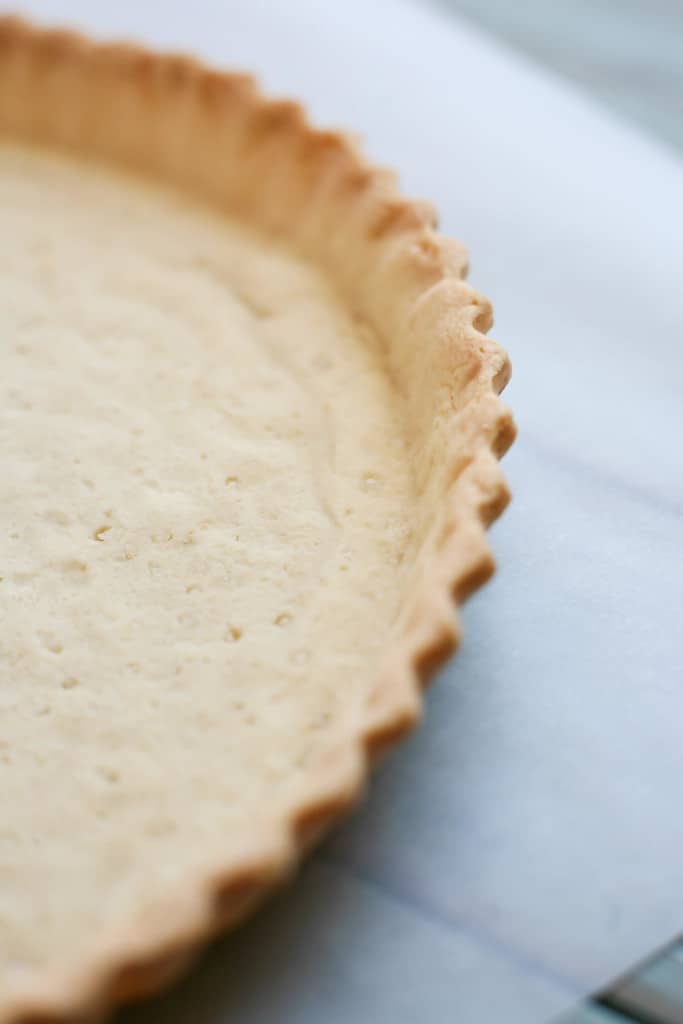 sweet pastry baked crust