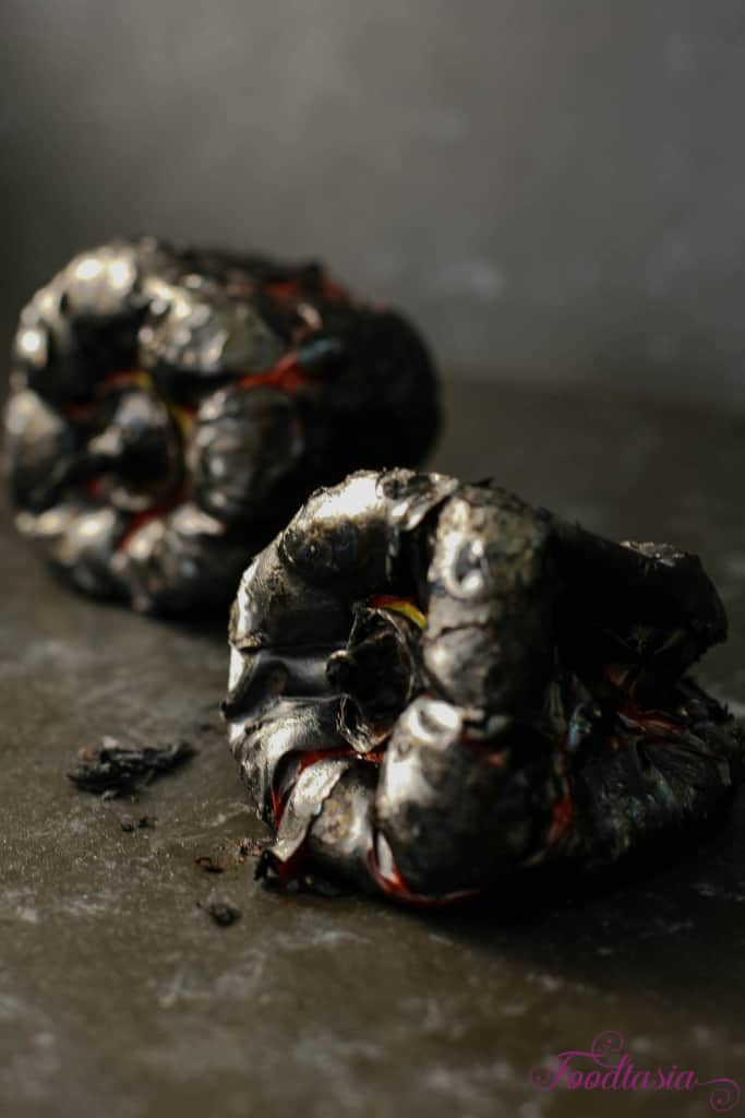 how to roast red peppers 2