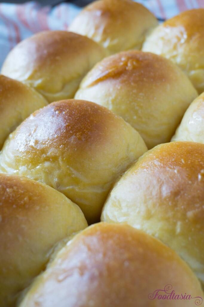 Pillowy Soft Sweet Potato Rolls