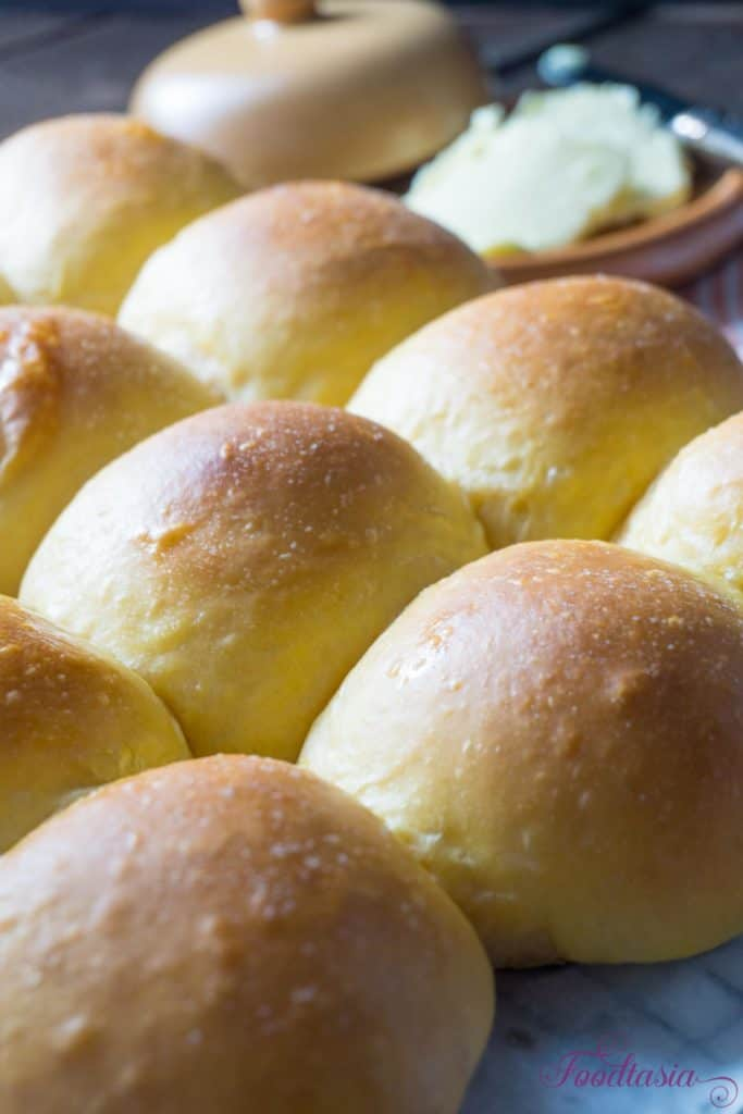 Pillowy Soft Sweet Potato Rolls