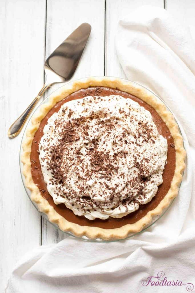 Decadent and sumptuous, this French Silk Pie is a chocolate lover's dream with a dense, mousse-like filling that is luxuriously silky and smooth.