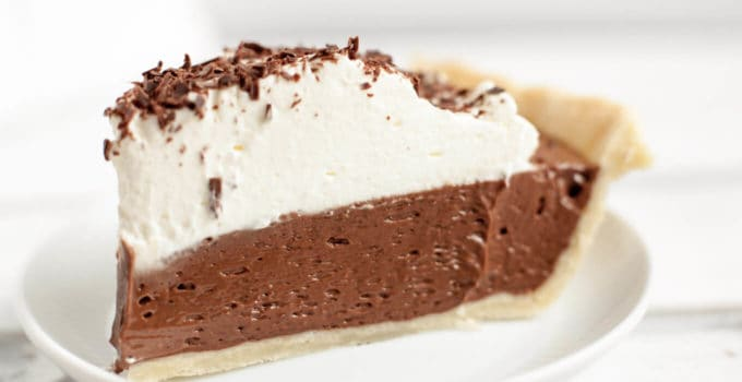 Dreamy French Silk Pie