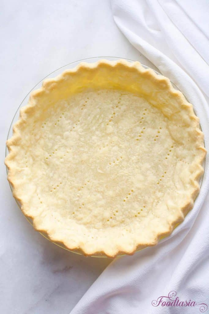 Light andflaky, this all-butter Flaky Pie Crust is full of melt-in-your-mouth butter flavor. Tender yet crisp, it makes the perfect crust.