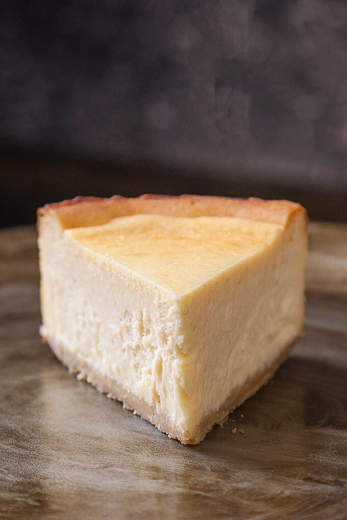 Classic New York Cheesecake | Foodtasia
