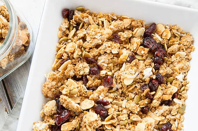 Honey Almond Crunch Homemade Granola
