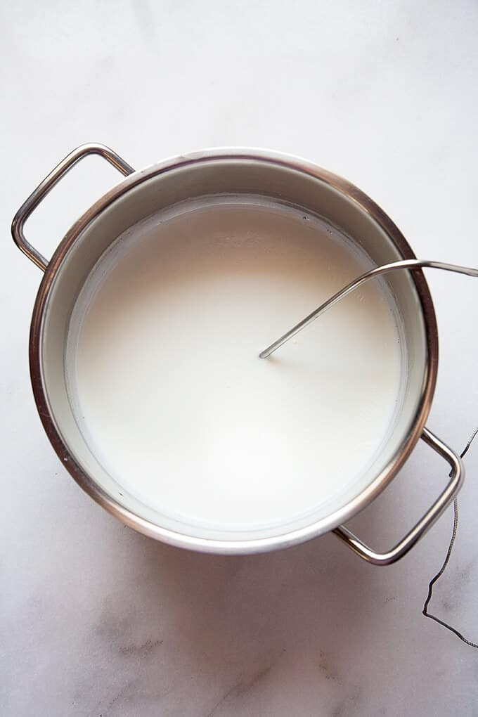 How to Make Yogurt -There's something very satisfying about making your own thick, creamy, nourishing yogurt with a delightful tang at home.