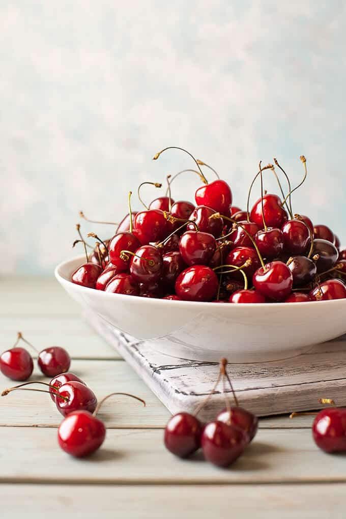 Roasted Cherries are absolutely magical! Their flavor and sweetness intensifies and they come out shiny and glistening and gorgeous!