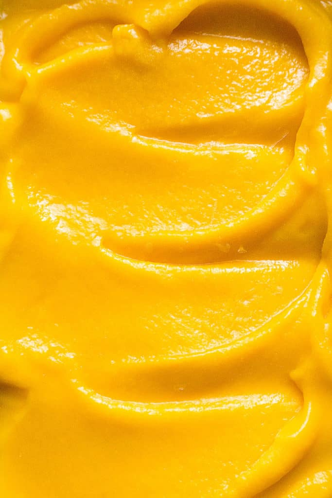 Vibrant and refreshing, Mango Sorbet has a luscious texture -the perfect way tosavor the bright,exotic taste of fresh mangoes.