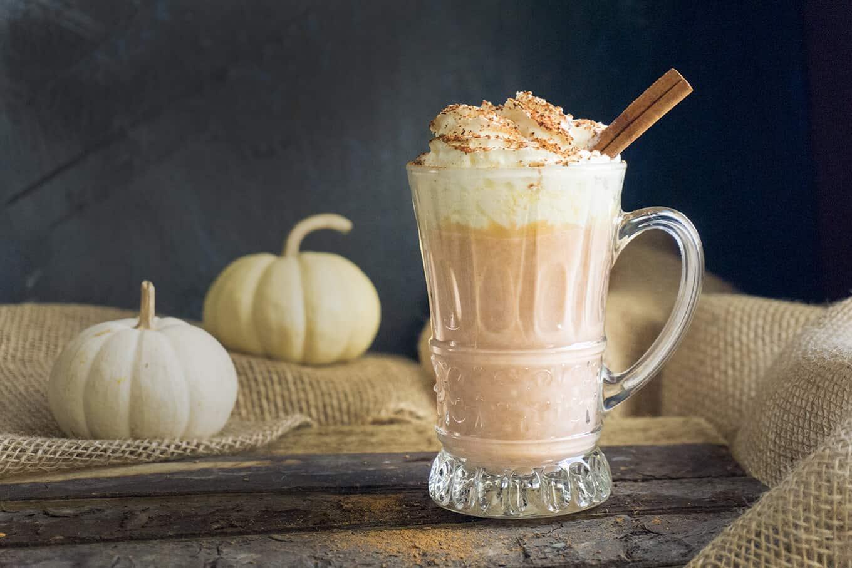 Pumpkin Spice White Hot Chocolate   Foodtasia