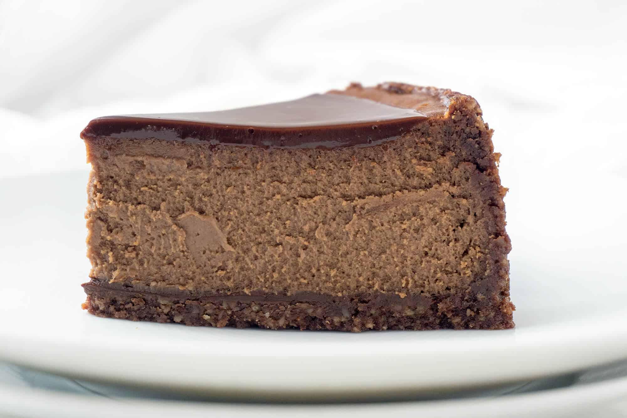 Chocolate Espresso Cheesecake | Foodtasia