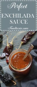 The Perfect Enchilada Sauce! No need to buy Enchilada Sauce from a can when it's this quick and easy to make at home.