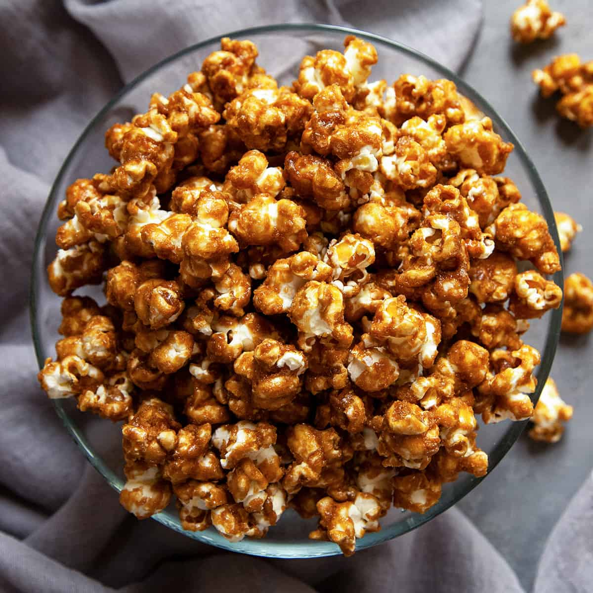This Is It Seriously The Best Easy Homemade Caramel Corn Foodtasia