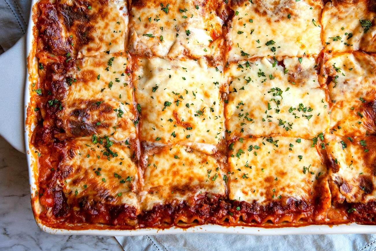 World's BEST Italian Classic Lasagna Recipe VIDEO with VIDEO ...