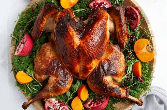 Spatchcock Turkey for the juiciest, simplest turkey you've ever roasted. The easiest, most reliable recipe for moist, juicy turkey with incredibly crisp skin.