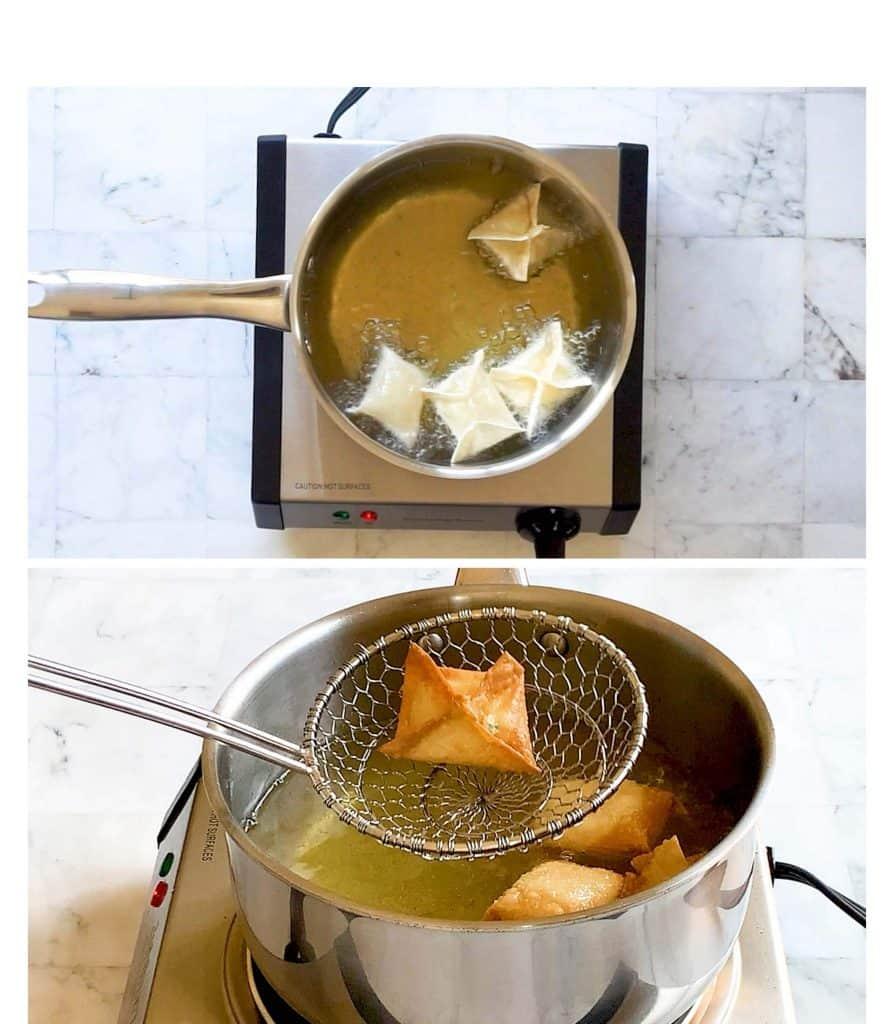 frying rangoon