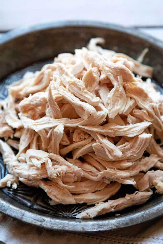 Have a recipe that calls for shredded chicken? Follow these easy, simple steps for tender, juicy shredded chicken.