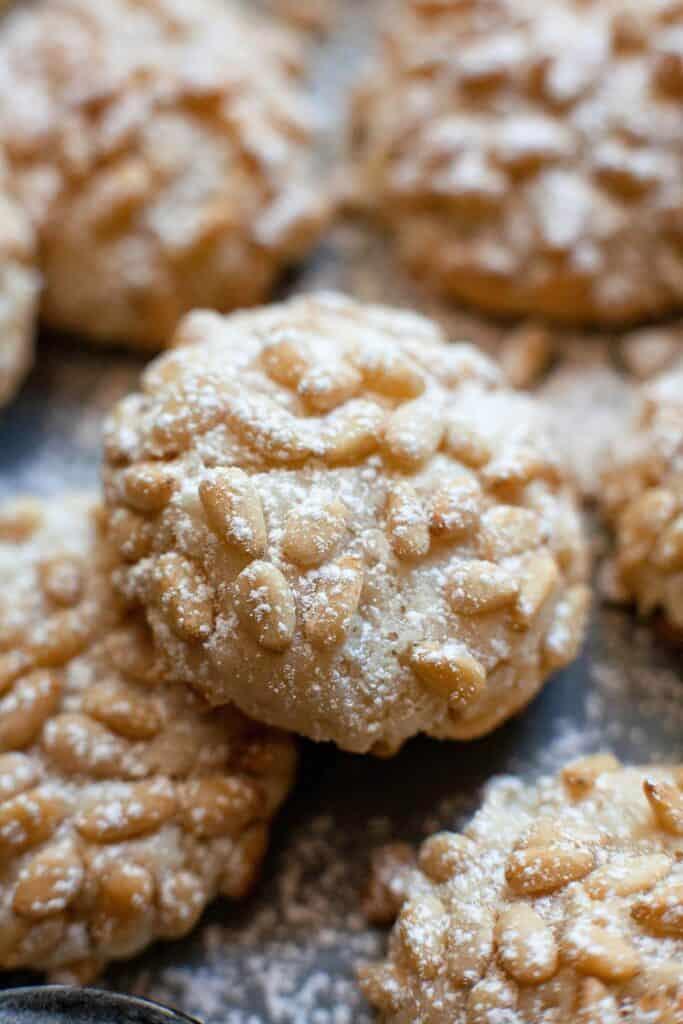 Italian Pignoli Cookies