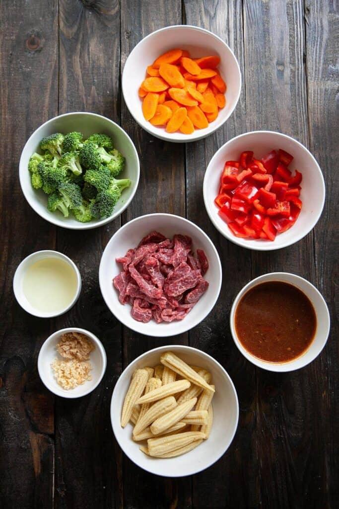 hunan beef ingredients