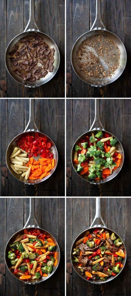 how to make hunan beef step by step