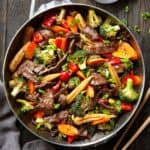 pan of hunan beef